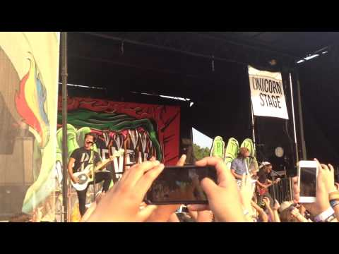 Pierce the Veil performing Hell Above in Charlotte, NC (Warped tour 2015)