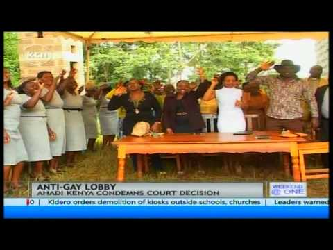 Ahadi Kenya condemns court decision for allowing registration of a lobby group