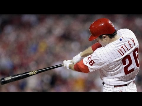 Chase Utley Highlights 2012