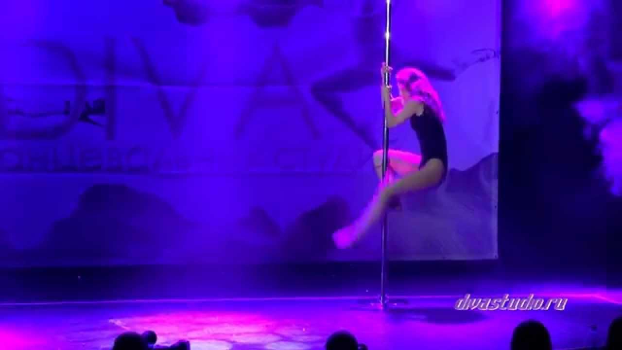 """Отчетный концерт Pole Dance в клубе """"Олимпия"""" 07.06.2015 года. Педагог Анна Кошкина"""