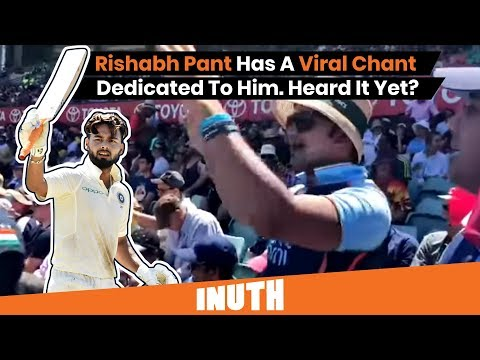 Rishabh Pant Has A Virat Chant Dedicated To Him | India vs Australia | Bharat Army