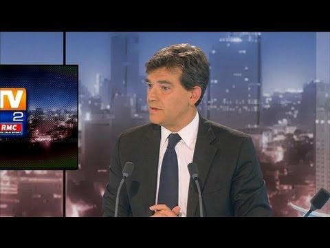 BFMTV 2012 : interview d'Arnaud Montebourg par Olivier Mazerolle