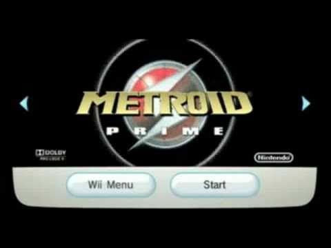 Metroid Prime Wii Version Disc Channel Intro