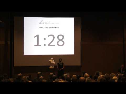 """18.09.2013: Gründermesse Neckar-Alb: Platz 2 des Startup-Wettbewerbs """"Elevator Pitch"""""""