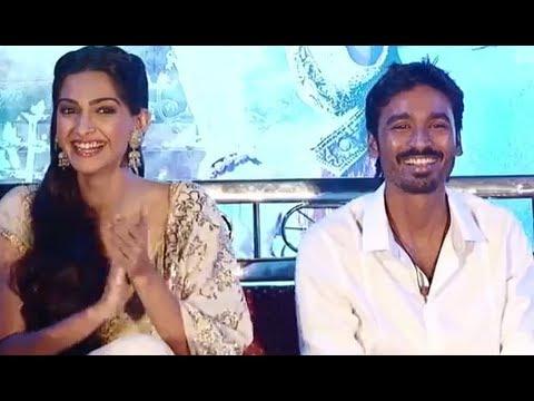Dhanush, Sonam Kapoor & Aanand L. Rai Gets Candid | Raanjhanaa Event