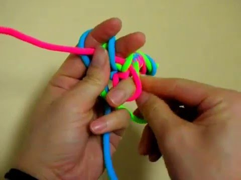 14 knot 못매듭 3줄-거꾸로
