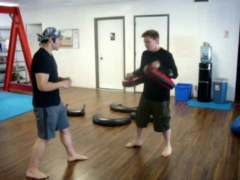 Donnie B. - How to Hold Thai Pads for Muay Thai Elbows and Knees Image 1