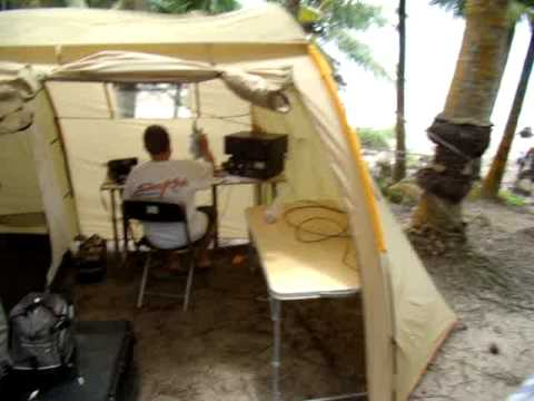 PW2IO and PW2TA - 2009 Cabras Island Dx-Pedition - IOTA SA-071 01