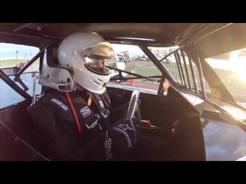 Chad Coleman In-Car Camera Hot Laps At Lucas Oil Speedway 4-16-16