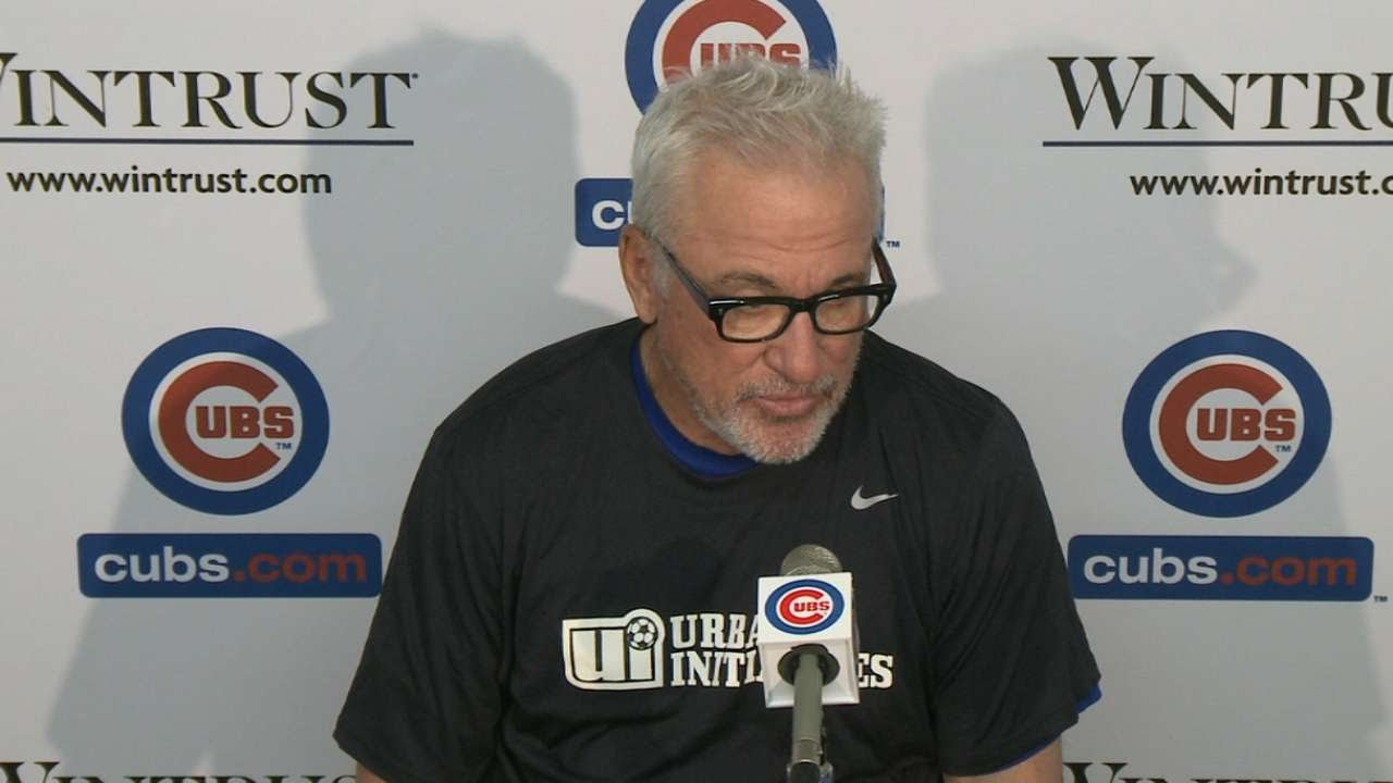 MIA@CHC: Maddon on missed opportunities in loss