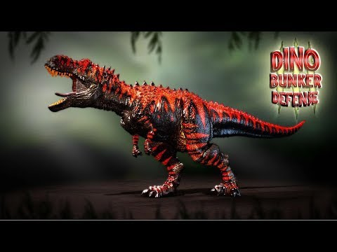 Dino Bunker Defense - iOS / Android - HD Gameplay Trailer Music Videos