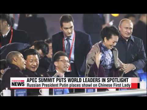 World leaders maneuver through APEC 세계회의를 통해 본  지도자들 전략