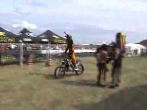 Metal Mulisha at Rockfest 2007 with Bikini Rockstar Girls Video