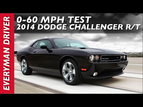 0-60 mph Test. 2014 Dodge Challenger R/T on Everyman Driver