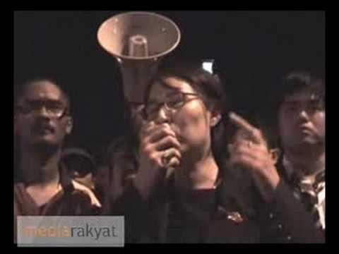 Anwar Arrested: Elizabeth Wong Spoken To Supporters