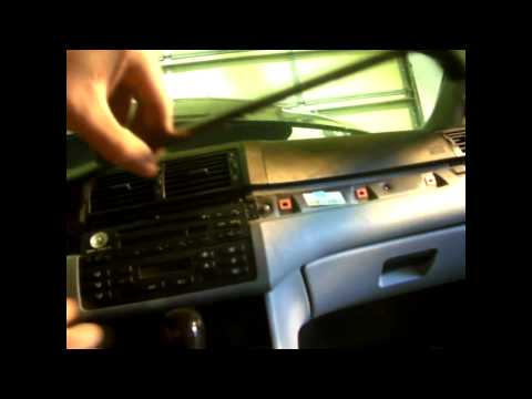 BMW E46 3 Series 99-05 Replace Radio Removal DIY & TUTORIAL