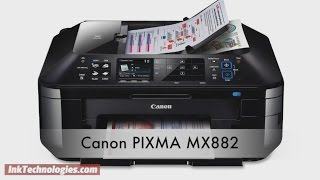 Canon PIXMA MX882 Instructional Video
