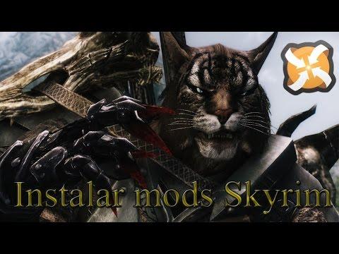 Tutorial como instalar Mods en Skyrim - Método básico - Con Nexus Mod Manager