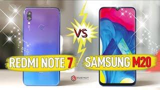 Có phải Galaxy M20 'TUỔI GÌ' với Xiaomi Redmi Note 7?