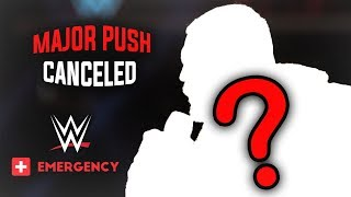 BREAKING: WWE Superstar LOSES Their Major Push Due To an EMERGENCY That We Never Seen Before - WWE