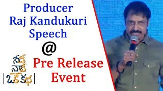 Producer Raj Kandukuri Speech @