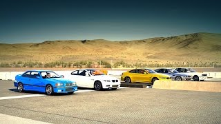 BMW M4 vs. BMW M3 E92, E46, E36 & E30 Drag Race - Forza 6