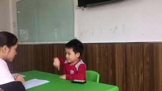 Bé Lương Đức Trung_Lớp Tiger_Kết quả toán IQ HK 1