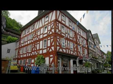Dillenburg HD: Fachwerk Tour durch die historische Altstadt in Hessen