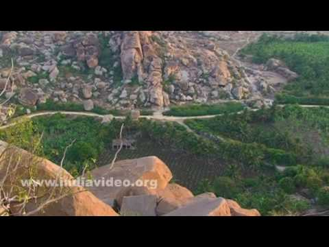 Hampi's view from Hemakuta Hill