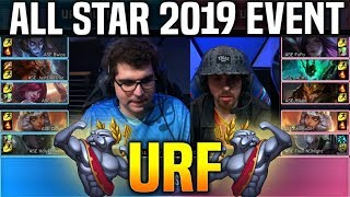 URF Mode Match - Bwipo Jacky Mikyx Peanut Closer Darshan & More! All Star 2019 Day 3