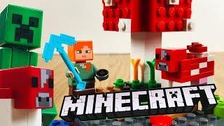 LEGO MINECRAFT The Mushroom Island 21129 Speed Build