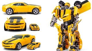 Transformers Movie Big Size Ultimate Bumblebee Camaro Vehicle Car Robot Toys