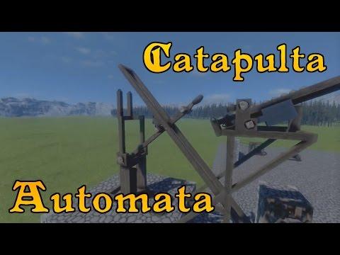 Catapulta Automata - Medieval Engineers