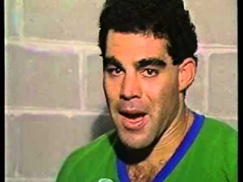 Interviews with Canberra Raiders after 1990 ten cup win