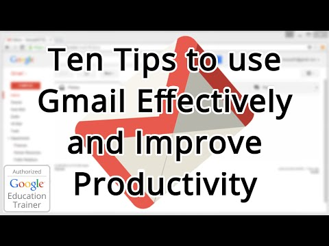 Guide: Ten Tips and Tricks for using Gmail (2015)