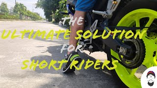 Short Rider Problem Solved | Yamaha R15 v3 Lowering Kit Installed