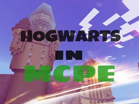Minecraft PE Map Review: HOGWARTS IN MCPE !