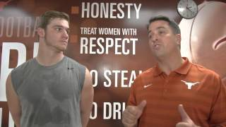 Longhorns' Andrew Beck on the mend [March 5, 2015]