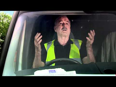 John Cleese on honking horns (6 of 6) - A TomTom Break Free sketch