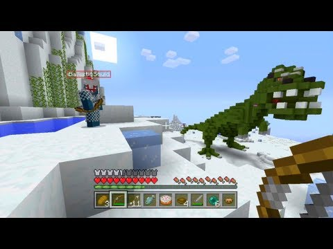 Minecraft Xbox - Jurassic Lights Out - Hunger Games With Youtubers - Round 2