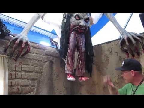 HHN 2012 Hollywood Behind the Scenes Tour: La LLorona PART 2