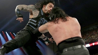 Roman Reigns vs Undertaker WWE Wrestlemania 33