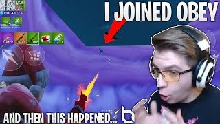 I joined OBEY and this this happened... (I still can't believe this happened!)