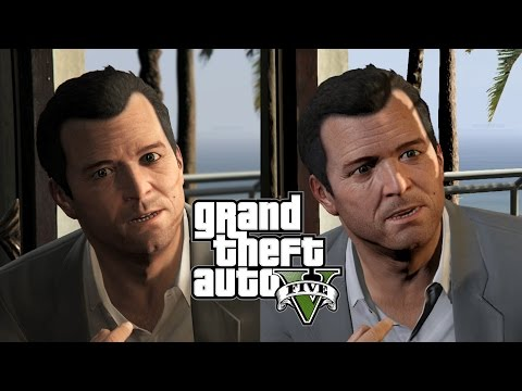 Grand Theft Auto 5 PS4 vs Xbox One vs PS3 vs Xbox 360!