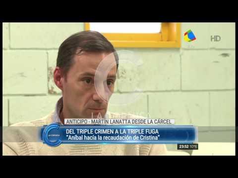 Lo dijo Martín Lanatta: Yo recaudaba para Aníbal Fernández