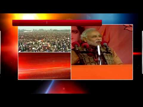 Narendra Modi's speech in Varanasi  Part 1