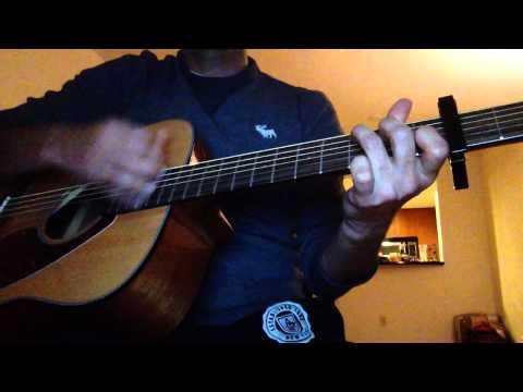 Tanha Dil Tanha Safar Shaan Guitar Cover