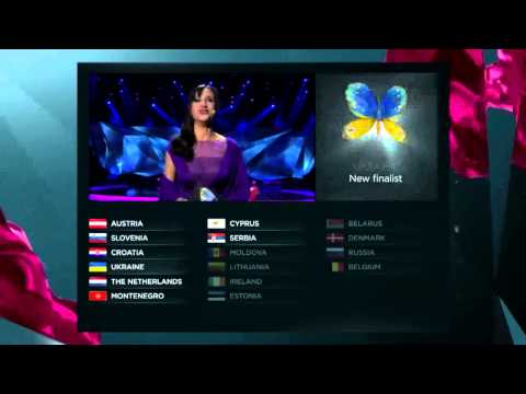 Eurovision 2013 - Semifinal 1 Qualifiers (Official Results)