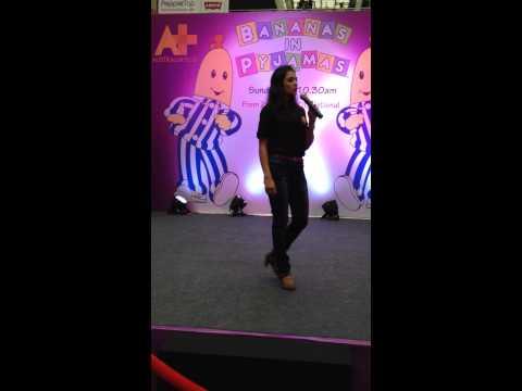 Anchor Lipi Goyal at 'MGF Gurgaon, Delhi  for the promotion of serial