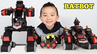 Transforming BATBOT Remote Control Car To Robot Toys unboxing With Ckn